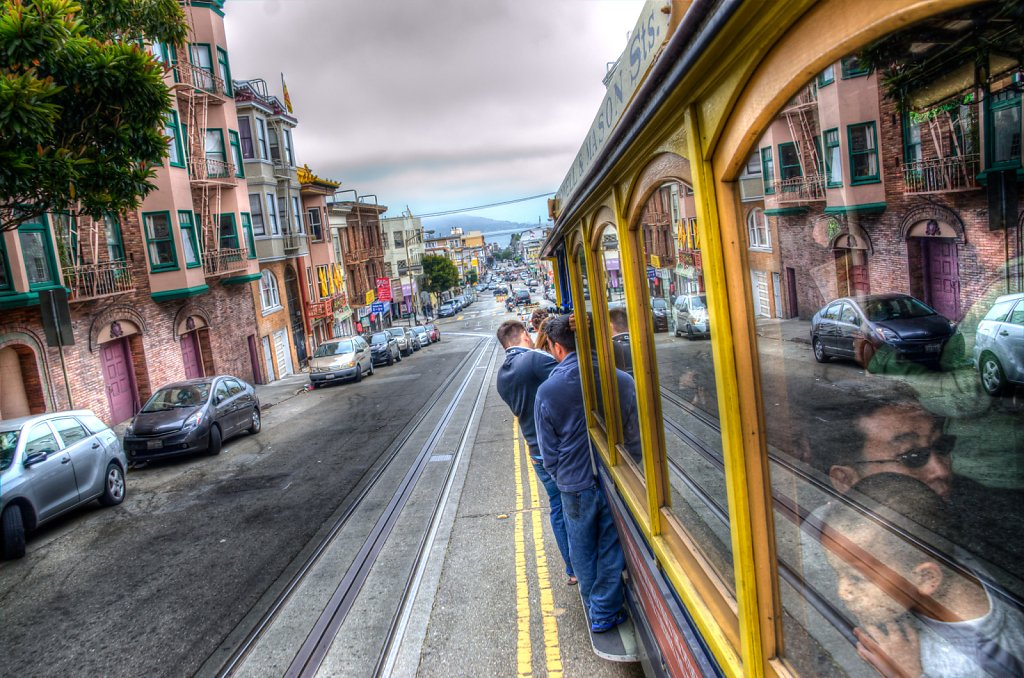 Cable Car HDR
