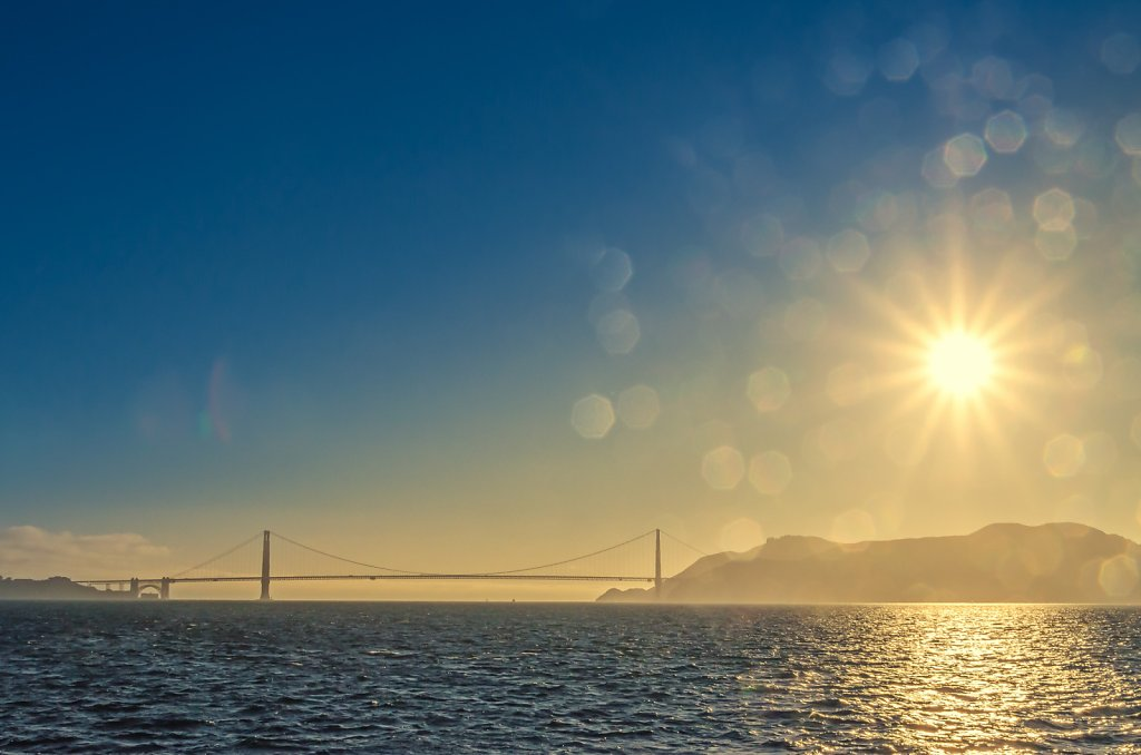 Sunny Golden Gate Bridge