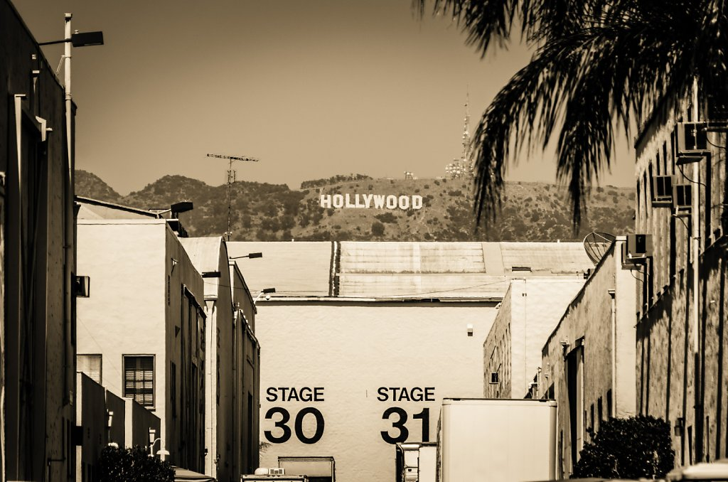 Hollywood from Paramount Studios